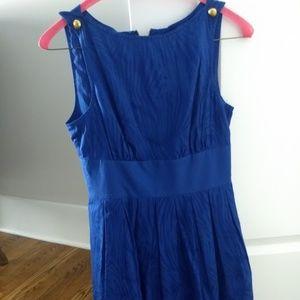 A/X Armani Exchange Blue Summer Dress Print